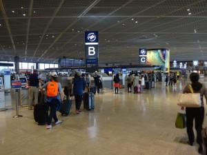 成田空港第一旅客ターミナルに行ってきました。18