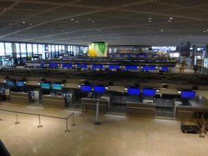 成田空港第一旅客ターミナルに行ってきました。23