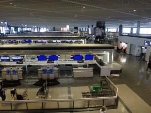 成田空港第一旅客ターミナルに行ってきました。7