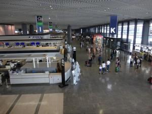 成田空港第一旅客ターミナルに行ってきました。10