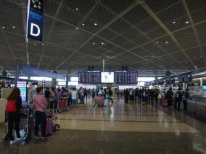 成田空港第一旅客ターミナルに行ってきました。11