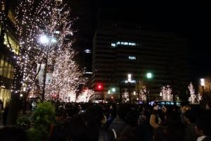 歩きながら楽しめるイルミ演出、「東京ミチテラス2016」5
