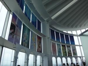 六本木ヒルズの展望台、スカイデッキに久しぶりに行きました。13
