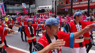 人が集まる渋谷に祭りの熱気が加わった、「第19回 渋谷・鹿児島おはら祭」