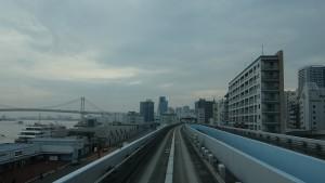 新橋駅→豊洲駅4