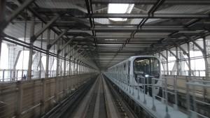 新橋駅→豊洲駅5