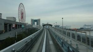 新橋駅→豊洲駅7
