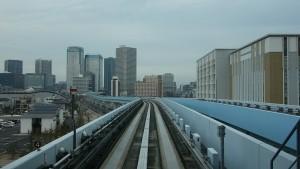 新橋駅→豊洲駅9