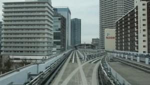 新橋駅→豊洲駅10