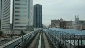 新橋駅→豊洲駅1