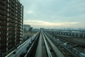 豊洲駅→新橋駅2
