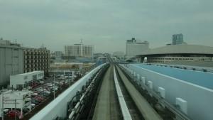 豊洲駅→新橋駅3