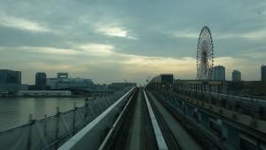 豊洲駅→新橋駅4