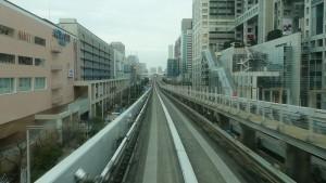 豊洲駅→新橋駅5
