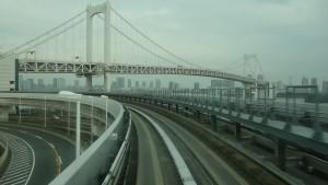 豊洲駅→新橋駅7