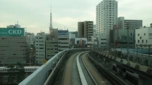 豊洲駅→新橋駅8