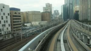 豊洲駅→新橋駅9
