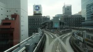豊洲駅→新橋駅10