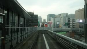 豊洲駅→新橋駅1