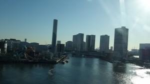 ゆりかもめに乗って景色を倍速にしてみました。~Fast View~11