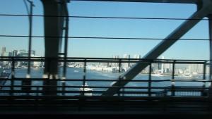 ゆりかもめに乗って景色を倍速にしてみました。~Fast View~12