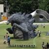 東京ミッドタウンにゴジラが出現!? 「TOKYOMIDTOWN meets GODZILLA」~日中編~