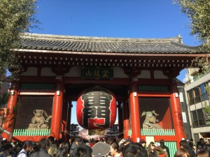東京での初詣1