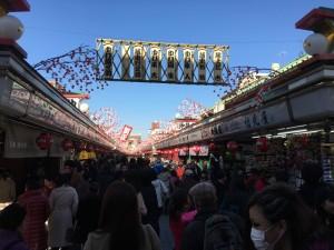 東京での初詣2