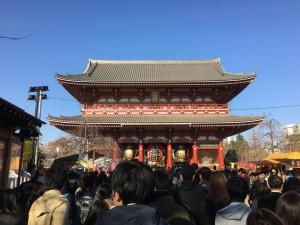 東京での初詣4