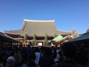 東京での初詣6