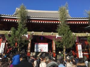 東京での初詣7