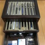 万年筆やインクを入れる箱を買いました