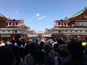 両親と温泉旅行に行ってきた~浅草寺~(4)4
