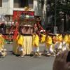 茅場町で祭りを見かけました。