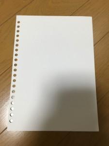 レポートパッドをリングノートにしました。9