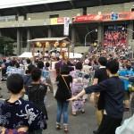 夏の祭りの踊りが楽しめた、「第23回 郡上おどり in 青山」