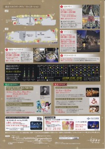 「TOKYO SKYTREETOWN DREAM CHRISTMAS 2015」~イルミネーション演出~(上)10