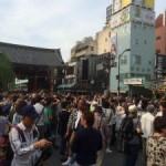 浅草の祭りといえば、「三社祭」