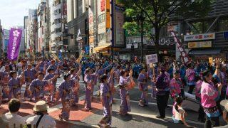「第20回 渋谷・鹿児島 おはら祭」の雰囲気を見に行ってきました。