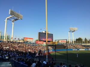 明治神宮外苑創建90年記念奉納試合「東京六大学選抜 VS 東京ヤクルトスワローズ」を観戦してきました。12