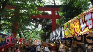 久しぶりの祭りに、花園神社例大祭