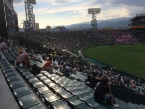 「第97回全国高校野球選手権大会」を見に行ってきました!(7)~第1日:第3試合「宮崎日大VS上田西」~(19)