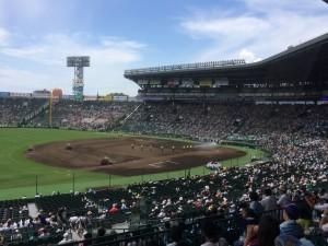 「第97回全国高校野球選手権大会」を見に行ってきました!(10)~第2日:第3試合「九州国際大付VS鳴門」(上)~(2)