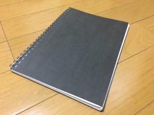 何でもノートをやり始めて、2冊目が一杯になりました。4