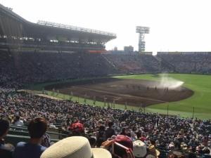 「第97回全国高校野球選手権大会」を見に行ってきました!(12)~第3日:第1試合「早稲田実VS今治西」(上)~(12)