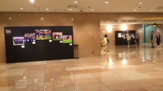 スポーツの一瞬を撮った、写真展「世界に羽ばたくアスリートの力~スポーツ報道写真展 2015~」