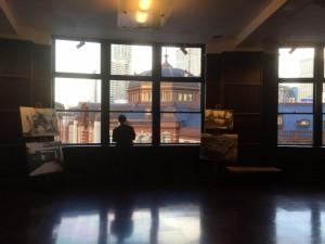 雰囲気がいい「旧東京中央郵便局室」(14)