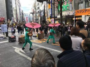 今年も様々な大道芸が楽しめた「ヘブンアーティスト IN SHIBUYA」2