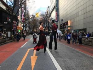 今年も様々な大道芸が楽しめた「ヘブンアーティスト IN SHIBUYA」4