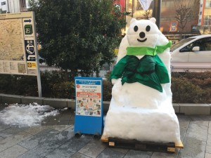 東京に雪だるまが集結!? 「第16回 神田小川町雪だるまフェア」1